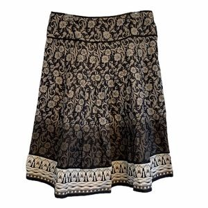 Coupe' Collection Boho Festival Skirt